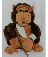 Mills Brand Brown Animated Monkey With Crutch Singing Love Hurts - $24.99