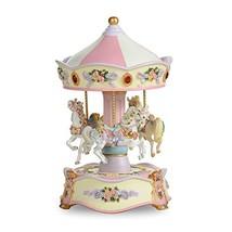 THE SAN FRANCISCO MUSIC BOX COMPANY Classic Horse Musical Carousel - $82.08