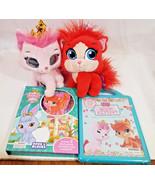 Disney Princess Palace Pets Aurora light up eyes + Book Block puzzle sto... - $39.59
