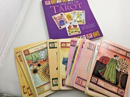THE ART OF TAROT By Liz Dean Set of Cards And Book - $10.39