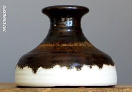 Vintage 60-70's STEULER Keramik Vase West German Pottery Art Fat Lava Er... - $18.80