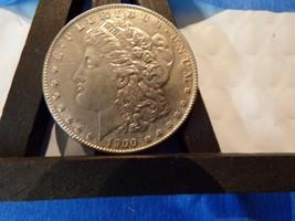 SILVER 1900-P UNCERTIFIED MORGAN $ AU+ - $57.23