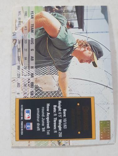 1994 Donruss Special Edition #55 Mark McGwire Oakland Athletics Baseball Card