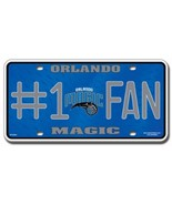 NBA Orlando Magic #1 Fan Metal Auto Tag - $7.79