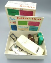 Vtg Singer Professional Buttonholer Slant Needle Sewing Machines Box Set... - $6.79
