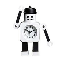 Koala Superstore Children Creative Cartoon Robot Alarm Clock Student Wake Up Clo - $31.02