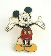 Walt Disney Collectible Lapel/Hat Pin - Mickey Mouse Gold Tone Enamel Pin  - $7.80