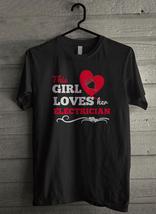 This girl loves her electrician Men's T-Shirt - Custom (4260) - $19.12+