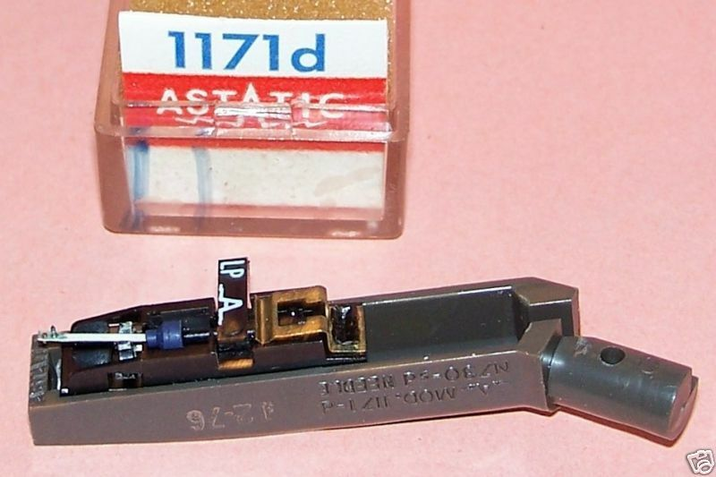CARTRIDGE Astatic 1171d for 371D Astatic 1170 5112D 5112 replaces Philco 35-2876