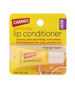 1 x Carmex Lip Conditioner Balm 13 Moisturizers Orange Discontinued Rare... - $29.99