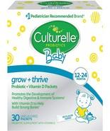 Culturelle Baby Grow - Thrive Probiotics - Vitamin D 30 ct EXP 1/22 - $23.75