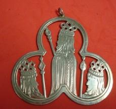 1973 Lunt Sterling Silver Trefoil Shape Ornamen... - $53.10