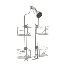 Over the Showerhead Caddy Expandable Shelf Storage Basket Bath Organizer... - $34.12
