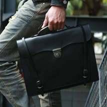 Sale, Handmade Men Tote Bag, Full Grain Leather Men Briefcase, Vintage Shoulder  image 6