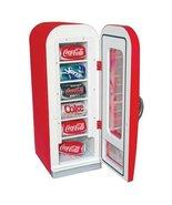 Koolatron Red 0.64 cu. ft. Coca Cola Vending Fridge Beverage Center - $197.99