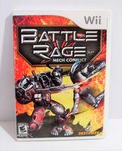 Battle Rage: Mech Conflict (Nintendo Wii, 2009) Complete! - $5.95