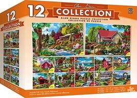 MasterPieces Alan Giana Collection Bundle, Jigsaw Puzzle, Featuring Gard... - $17.86