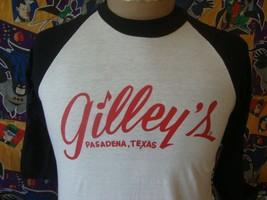 Vintage 80's Gilley's Pasadena Texas Honky Tonk Urban Cowboy T Shirt M  - $98.99