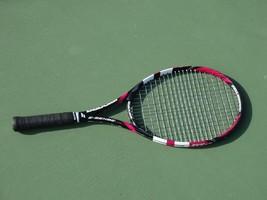Babolat E-Sense Lite Red Tennis Racket 3;4 3/8 Full Graphite racquet used - $98.99