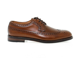 Lace-up shoes CLARKS COLI LI M in brown leather - Men's Shoes - $210.90