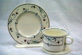 Mikasa 2000 Annette CAC20 Cup And Saucer Set - $3.46