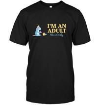Im an Adult Not Really Unicorn T Shirt 18th Birthday Gift - $17.99+