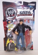 "New! 2002 Jakk's WWE Ruthless Agression ""Eric Bischoff"" Action Figure WW... - $39.59"