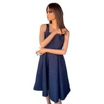 Isaac Mizrahi Navy Fit & Flare Dress Size 2  - $19.99