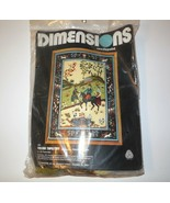 Dimensions Needlepoint new PERSIAN TAPESTRY #2089 NIP 1978 Timothy Glenn Vtg - $65.00