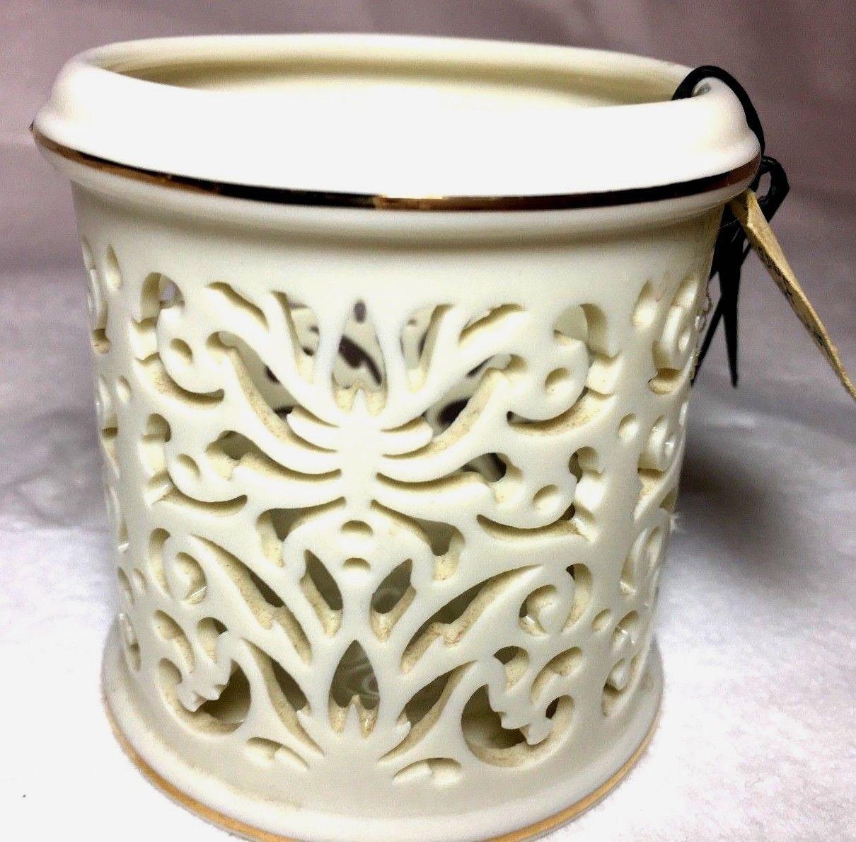 Handcrafted Lenox Tea light Candle Holder