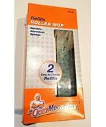 2 PACK MR. CLEAN 4765 MOP IN A BOX ROLLER MOP HEAD REFILLS sponge wipe b... - $6.75