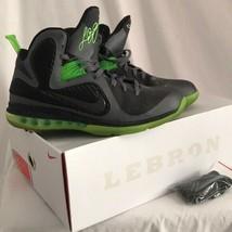 Nike Lebron 9 Nero Grigio Scarpe da Basket Uomo 12 con Scatola Originale - $89.77
