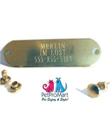 Personalize Engraved Collar Rivet Tags - $8.49
