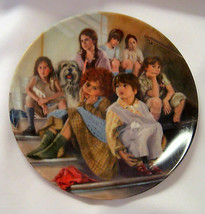 Annie and Orphans Collectible Plate 1984 Knowles Fine China Limited Edition - $19.79
