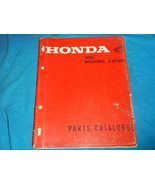 1966-1969 66 67 68 69 HONDA CA160 CA 160 PARTS MANUAL BOOK CATALOG - $156.85