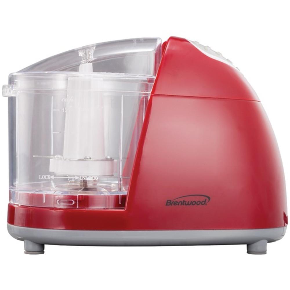 Brentwood Appliances MC-105 1.5-Cup Mini Red Food Chopper
