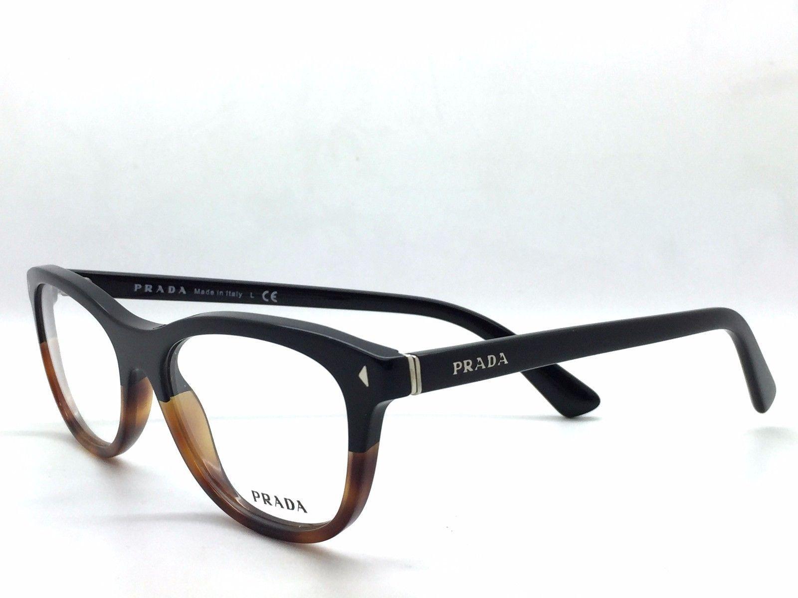 Prada VPR 05R TKA-1O1 Black/ Tortoise Authentic Eyeglases51mm 17mm 140mm w/Case