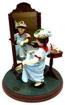The norman rockwell gallery Figurine Dressing up - $29.00