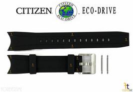 Citizen Eco-Drive Promaster B877-S070848 Black Rubber Watch Band Strap w... - $85.45