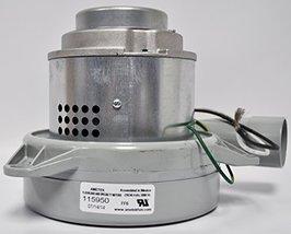 Ametek Lamb 7.2 Inch 240 Volt B/B 2 Stage Tangential Metal Motor 115950 - $362.66