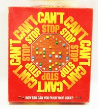 VINTAGE 1980 Parker Brothers Can't Stop Board Game - £35.86 GBP