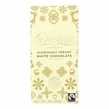 Divine - Bar White Chocolate - Case Of 12 - 3 Oz - $52.97