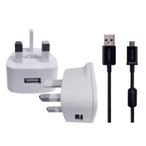 WALL CHARGER&USB FOR Sennheiser PXC 550 Wireless Headphone - $9.64