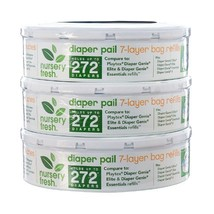 Nursery Fresh Refill for Diaper Genie 3 Pack, 816 Count - $20.23