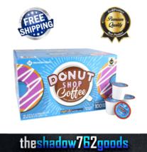 Member's Mark Donut Shop Coffee 100 Single-Serve Cups K-Cup Pods Medium Roast - $52.96