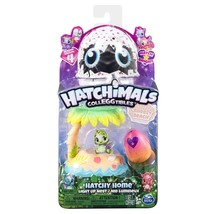 Hatchimals Hatchy Home Colleggtibles Brezzy Beach  Season 4 Light Up Nest New - $6.17