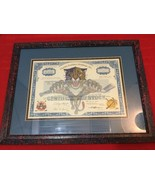 FLORIDA PANTHERS HOLDINGS INC COMMON STOCK CERTIFICATE 1997 - $200.00