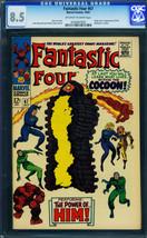 FANTASTIC FOUR #67-1967-HIM/WARLOCK ORIGIN-CGC 8.5-JACK KIRBY 0245667002 - $808.98