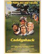 Caddyshack Signed Movie Poster  - $180.00