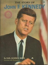 ORIGINAL Vintage 1964 Story of John F Kennedy JFK Book by Earl Schenk Miers - $24.74